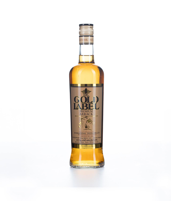 Idl Gold Label Premium Arrack In Sri Lanka L Ceylon Spirits