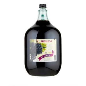 Beldi Vino Rosso 5L